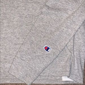 Champion Shirts - Grey SMALL Champion Long Sleeve LS